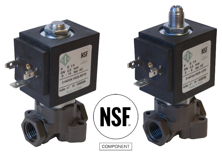 New 21AP and 31AP NSF certified